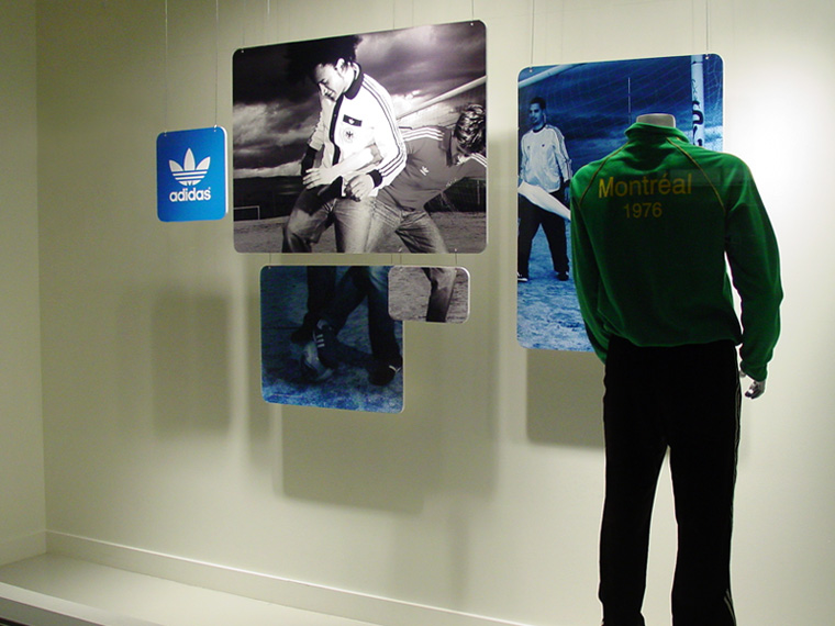 Adidas Originals window display