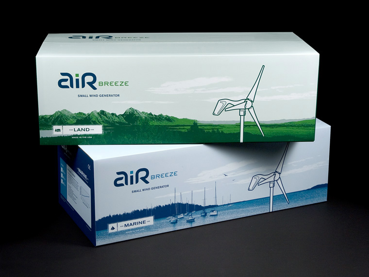 Air Breeze packaging