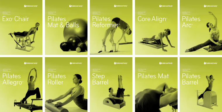 Balanced Body product manuals