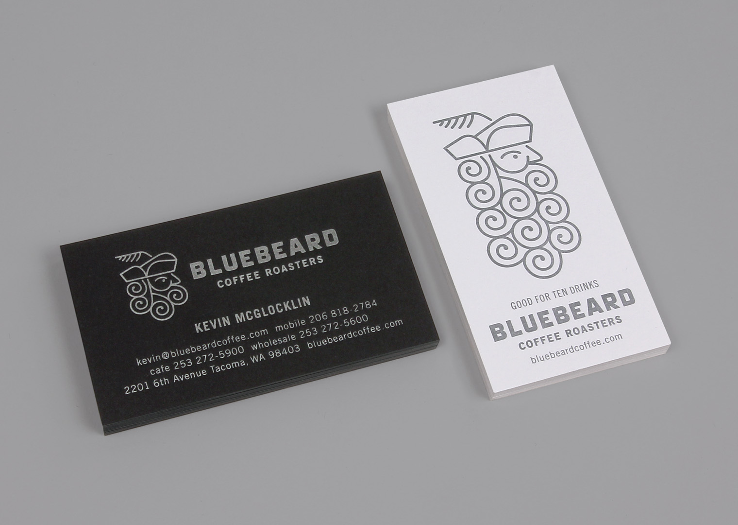 Bluebeard Coffee Roasters cards