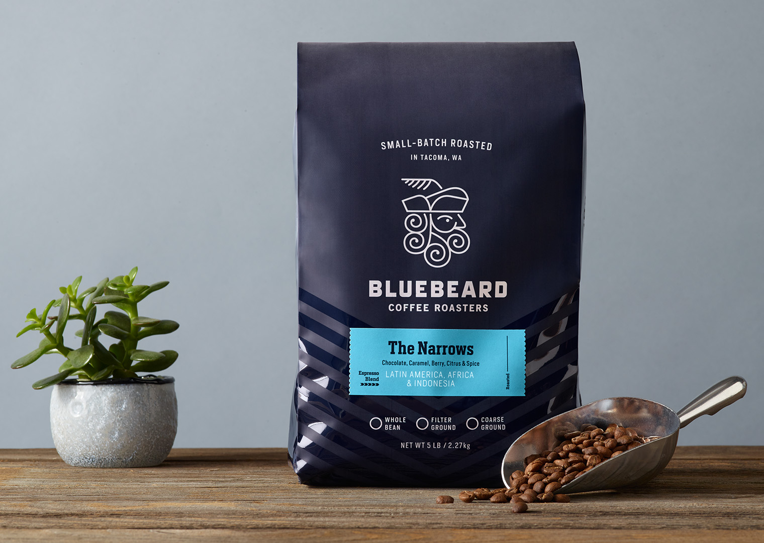 Bluebeard Coffee Roasters 5lb bag