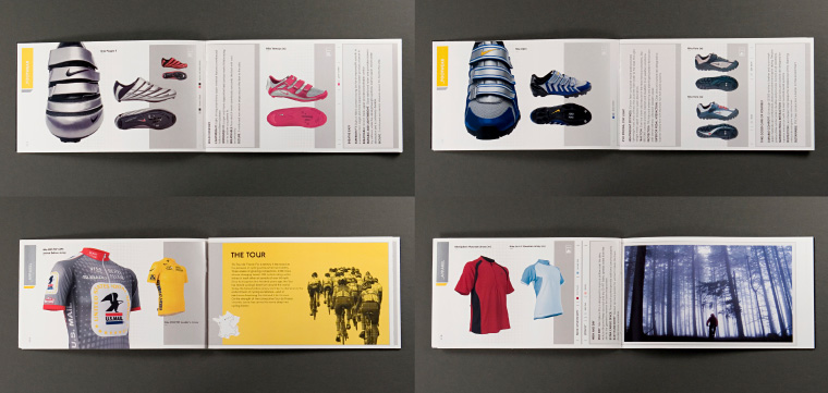 wholesale dealer be025 35857 ... Nike Lance Armstrong shoe catalog spreads ...