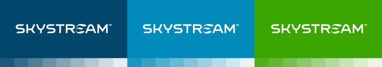 Skystream brand colors