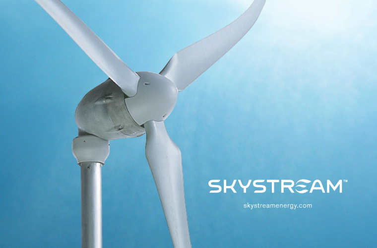 Skystream product logo